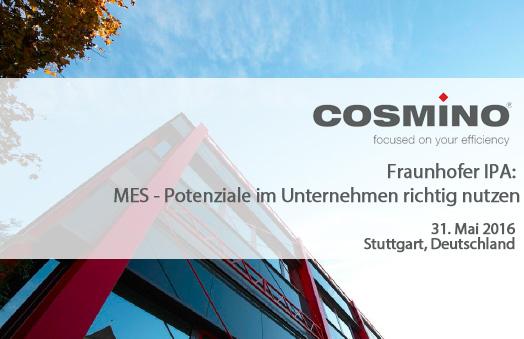 Fraunhofer MES Forum